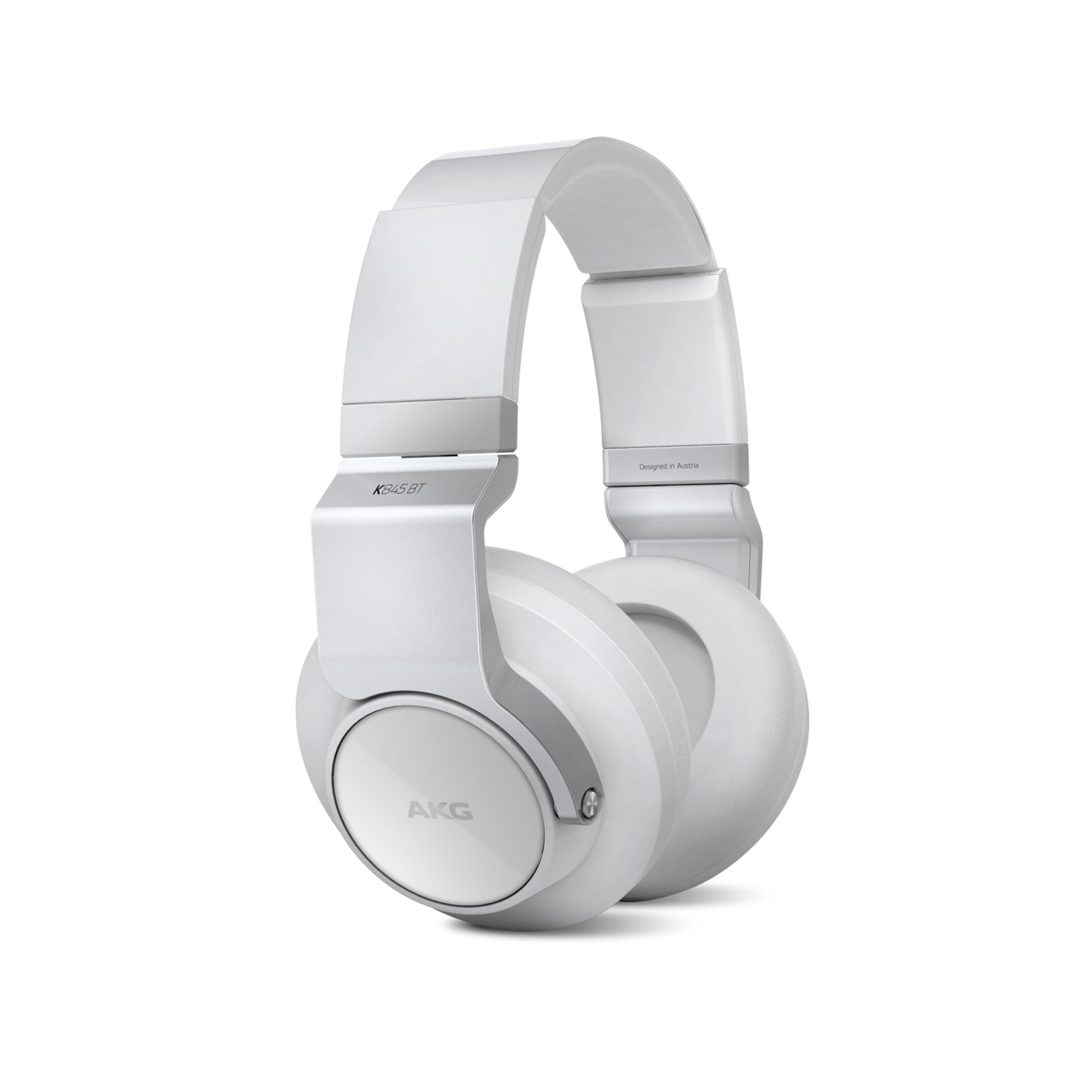 K 845BT - White - High performance over-ear wireless headphones with Bluetooth - Hero