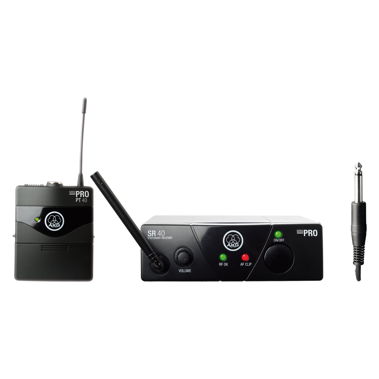 WMS40 Mini Instrumental Set Band-US25-A - Black - Wireless microphone system - Hero