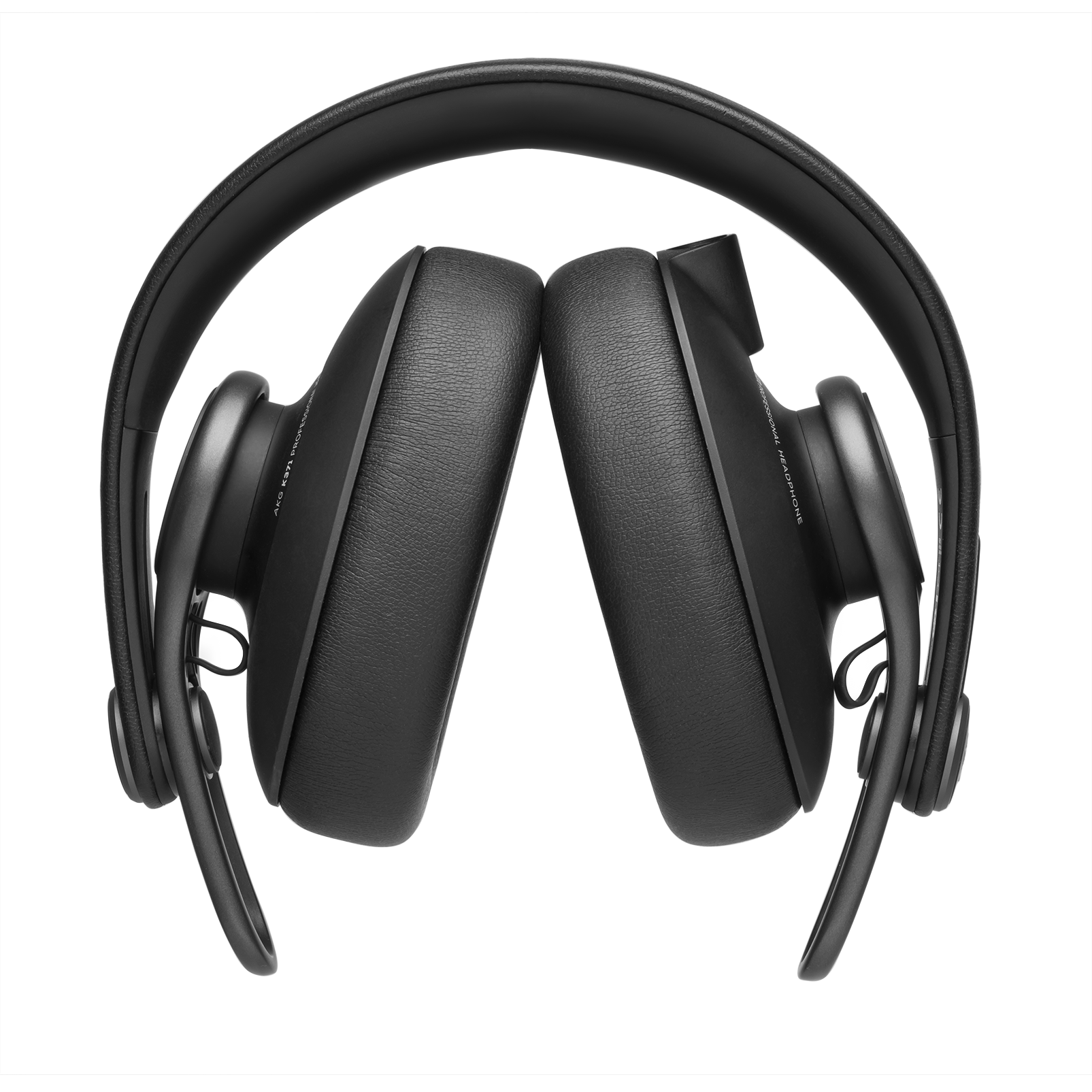 K371 - Black - Over-ear, closed-back, foldable studio headphones - Detailshot 2