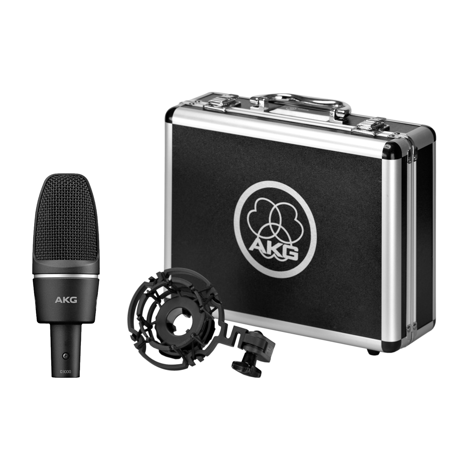 C3000 - Black - High-performance large-diaphragm condenser microphone - Detailshot 2
