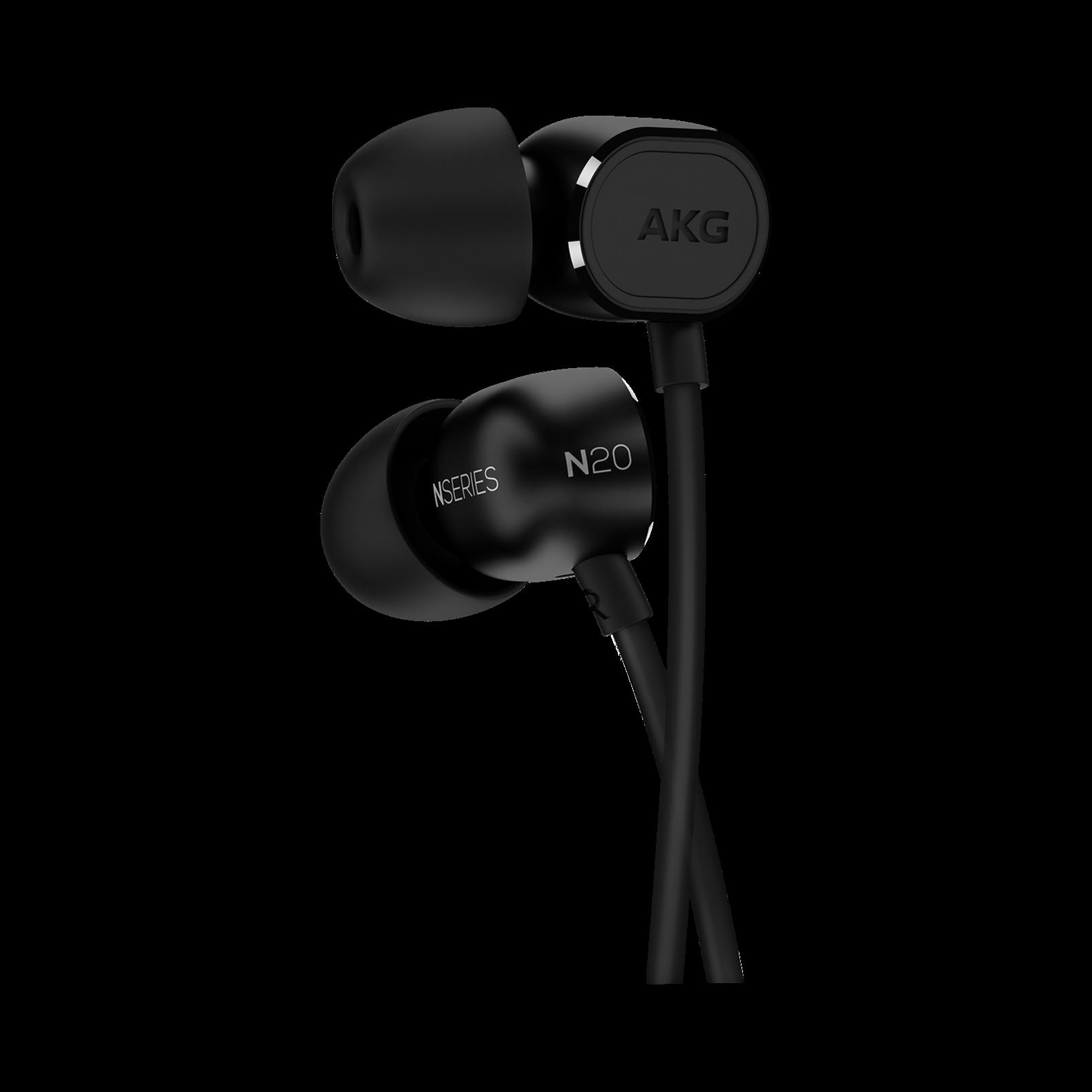 N20 - Black - Reference class in-ear headphones in aluminum enclousure - Hero