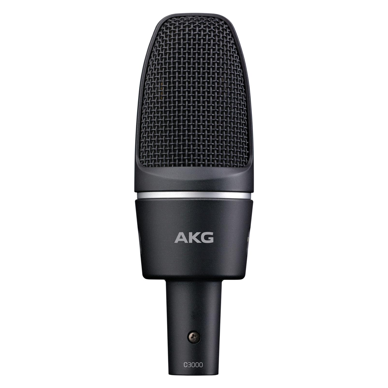 C3000 - Black - High-performance large-diaphragm condenser microphone - Hero