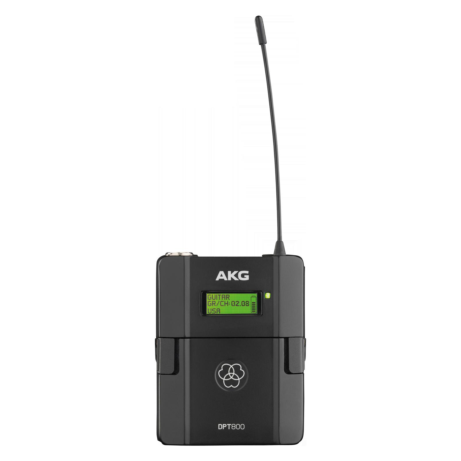 DPT800 Band1 50mW (B-Stock) - Black - Reference digital wireless body pack transmitter - Hero